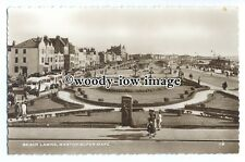 tq1146 - Well kept Beach Lawns on the Seafront, at Weston-Super-Mare - postcard