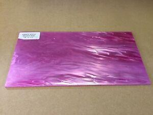 "KIRINITE: Magenta Pearl  1/8""   6"" x 12""   Sheet for Wood Working, Knife Making"