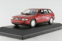 A.S.S MINICHAMPS PMA 1:43 AUDI A4 AVANT RED METALLIC 1995 ORIGINAL PC-BOX