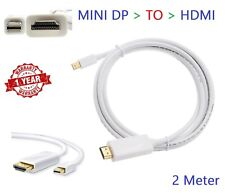 1.8m Mini dp displayport to hdmi ThunderBolt Cable Adapter For MacBook Air Pro