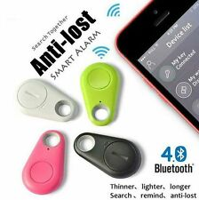 Bluetooth Finder Pet Child GPS Locator Tag Alarm Wallet Key Tracker Anti-lost