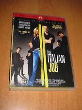 THE ITALIAN JOB ( DVD , REGION 4 ) MARK WAHLBERG * LIKE NEW *