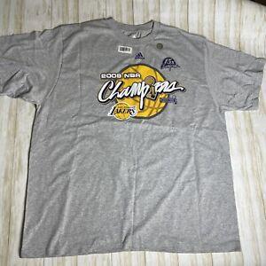 Los Angeles Lakers 2009 NBA CHAMPIONSHIP Authentic Locker Room Edition Shirt 2XL