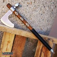 Camping Flintlock War of 1812 Rev War Rendezvous Large Tomahawk // Hatchet