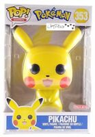New Funko Pop Games Pokemon 10 Inch Pikachu #353 Target Exclusive New In Hand