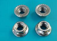 Sperrzahnmuttern DIN 6923 M3-M12 Flanschmutter Edelstahl V2A Bundmutter Rostfrei