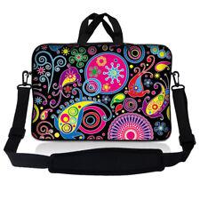 """15.6"""" Laptop Sleeve Bag Case w Shoulder Strap HP Dell Asus Acer Art Design S62"""