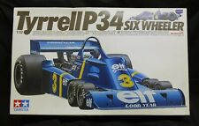 TAMIYA 1/12 Tyrrell P34 Six Wheeler F1 Model Car Kit