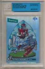 PATRICK MAHOMES 2018 PANINI HONORS DOWNTOWN RECOLLECTION AUTOGRAPH SP AUTO #2/2
