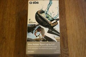 """SBS Bike Mobile Phone Holder Bike Bag Sport Up To 5.5"""" Touch Enabled new"""