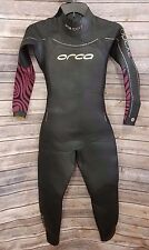 Wetsuit Orca Apex 2 Triathlon Full suit Womens sz M Aquaskin Hydra Stroke