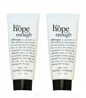 Philosophy When Hope Is Not Enough Hydrating Cleansing Balm 1 oz Omega (2 Pack)