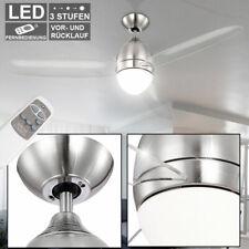 DEL Ventilateur Plafond Lampe De Pièce Ventilateur salon chambre Incl. Télécommande