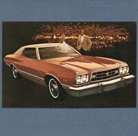 1968 Ford LTD 4-Dr Hardtop Original Vintage NOS Dealer Postcard Unused VG+//Ex