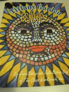 Book TIFFANY GARDEN BENCHES Patterns Jean Bishop & Julie Bishop-Day 1999 UNCUT