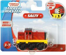 NEW OFFICIAL THOMAS & FRIENDS PUSH ALONG TRACKMASTER SALTY FIGURE TOY