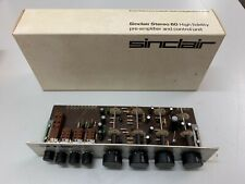 VINTAGE NOS SINCLAIR STEREO  PRE AMPLIFIER CONTROL UNIT NEW IN BOX
