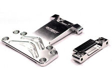 INTEGY RC Car T7842SILVER Alloy Chassis Plate for Associated SC10 2WD
