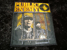PUBLIC ENEMY AUFNÄHER PATCH RAIDERS RAP OLDSCHOOL VINTAGE DEF JAM 1989 CHUCK D