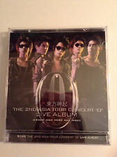 Tohoshinki TVXQ DBSK Dong Bang Shin Ki 2nd Asia Tour O Live Album CD Kpop