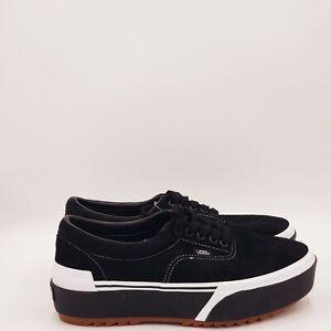 Vans Women's Era Stacked Platform Sneakers Size 10 Medium Black A504