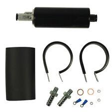 Black 270LPH External Inline FUEL PUMP GSL392 GSL-392 HIGH PRESSURE W/KIT