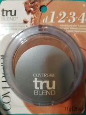 Covergirl Tru Blend Mineral Pressed Powder D1 2 3 4 Translucent Tawny Oil Free