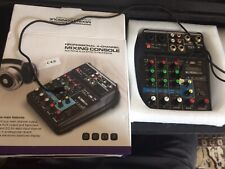 4 channel Audio Mixer Usb