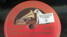 Import 78 RPM Vinyl Music Records
