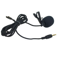 Lavalier Lapel Clip-on Interview Mic Condenser Microphone for Gopro Hero 3/4