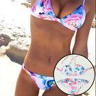 verano mujer acolchado Push-up Set De Bikini Bañador Traje Baño Ropa