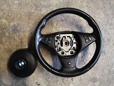 Bmw e60 m sport steering wheel Whit Airbag