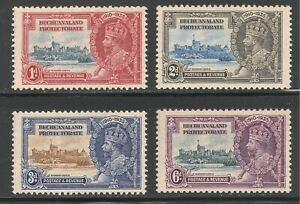 Bechuanaland Protectorate #117-120 VF MNH 1935 Windsor Castle and King George V