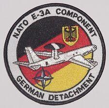 Patch Aufnäher NATO AWACS E-3A COMPONENT GERMAN DETACHMENT ........A2432