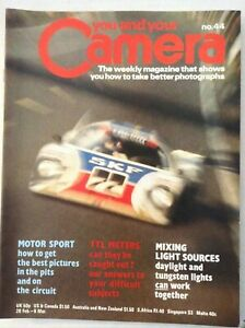 You And Your Camera Magazine Motor Sports TTL Meters Vol.3 No.44 022019nonrh