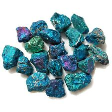 250 Pcs AAA Grade Charged 500cts Tiny Baby Peacock Ore Chalcopyrite Crystals