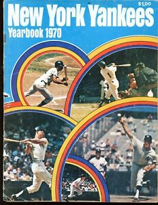 1970 New York Yankees Yearbook VG+