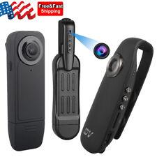 1080P HD Camera Video DVR IR Night Motion Camcorder Mini Police Body Pocket Cam
