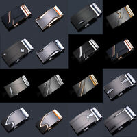 Fashion Men's Alloy Automatic Buckle For Waist Strap Belt Waistband Gold/Silver