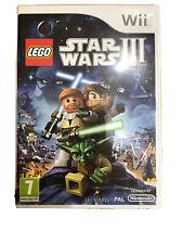 LEGO - Star Wars III (3) - The Clone Wars - Wii
