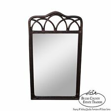 """Drexel Heritage """"Malay"""" Collection Faux Bamboo Painted Wall Mirror"""