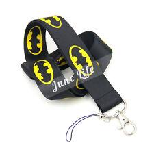 Cute Batman SuperheroNylon Neck Strap Lanyard Keychain Phone Camera Holder Gift
