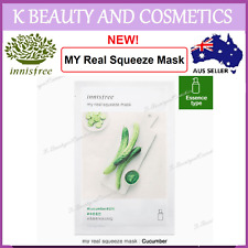 5 pieces x [INNISFREE] My Real Squeeze (CUCUMBER) *NEW 2017! 20ml