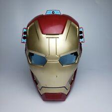 Iron Man Light Up Mask Hasbro 2012 Marvel Avengers LED Blue Eyes and sound