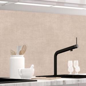 Küchenrückwand - TAUPE STRICH - selbstklebend, PRO Version, PVC 0.2mm