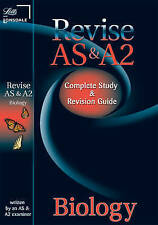 AS and A2 Biology: Study Guide (Letts A Level Success) by Letts Educational (Pap