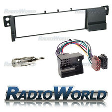 BMW 3 Series E46 Radio Fascia Panel Placa de Adaptador Kit de montaje de Pin plana envolvente