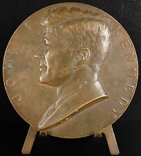 Médaille Jack John Fitzgerald Kennedy inaugurated USA Président 1961 medal