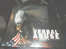 VERBAL ABUSE.RED WHITE AND VIOLENT.VINYL ALBUM NEW