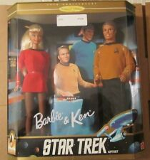 1996 Mattel STAR TREK BARBIE & KEN ~ 30th Anniversary Collector Edition ~ NIP